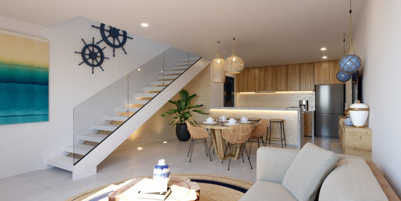 GeoBienes - A5-A Coral Bifamiliar - Plusvalia Guayaquil Casas de venta y alquiler Inmobiliaria Ecuador