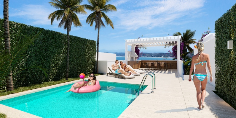 GeoBienes - A6-A Coral Bifamiliar - Plusvalia Guayaquil Casas de venta y alquiler Inmobiliaria Ecuador