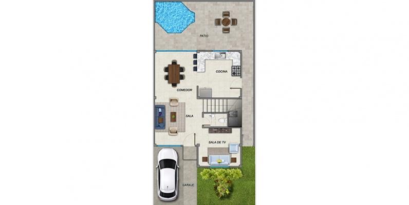 GeoBienes - Ciudad del Valle Villa Danna - Plusvalia Guayaquil Casas de venta y alquiler Inmobiliaria Ecuador