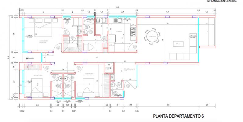 GeoBienes - D6 - Departamento en venta segundo piso Los Ceibos Guayaquil - Plusvalia Guayaquil Casas de venta y alquiler Inmobiliaria Ecuador