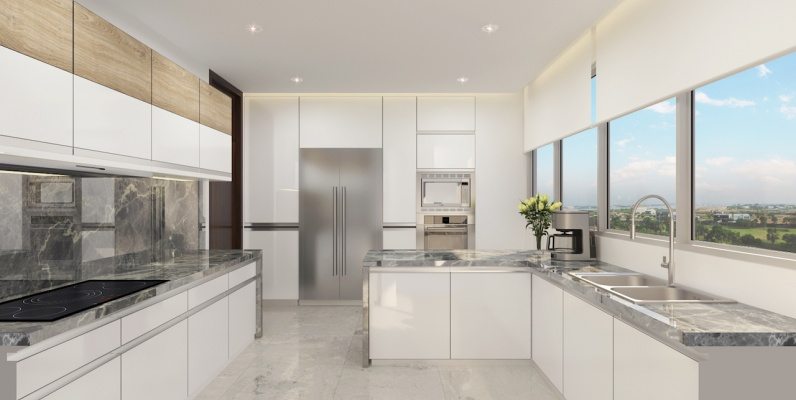 GeoBienes - Departamento A en venta en Mocolí Samborondón Puerto 5000 - Plusvalia Guayaquil Casas de venta y alquiler Inmobiliaria Ecuador