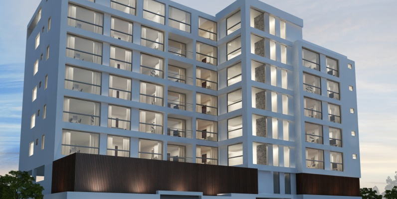 GeoBienes - Departamento en venta en Salinas. 2 dormitorios en Camboriú Suites - Plusvalia Guayaquil Casas de venta y alquiler Inmobiliaria Ecuador