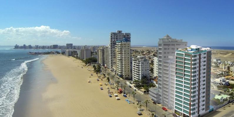 GeoBienes - Departamento en venta en Salinas de 1 dormitorio frente a la playa de Chipipe - Plusvalia Guayaquil Casas de venta y alquiler Inmobiliaria Ecuador