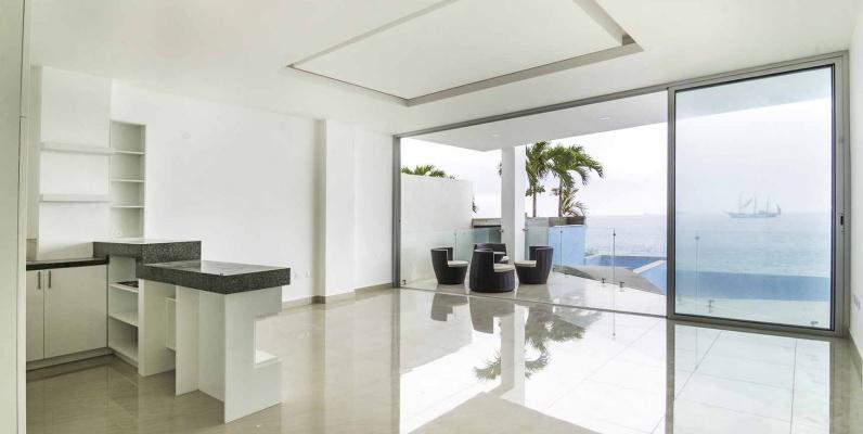 GeoBienes - Departamento frente al mar en venta en Condominio Nigon en Capaes - Santa Elena - Plusvalia Guayaquil Casas de venta y alquiler Inmobiliaria Ecuador