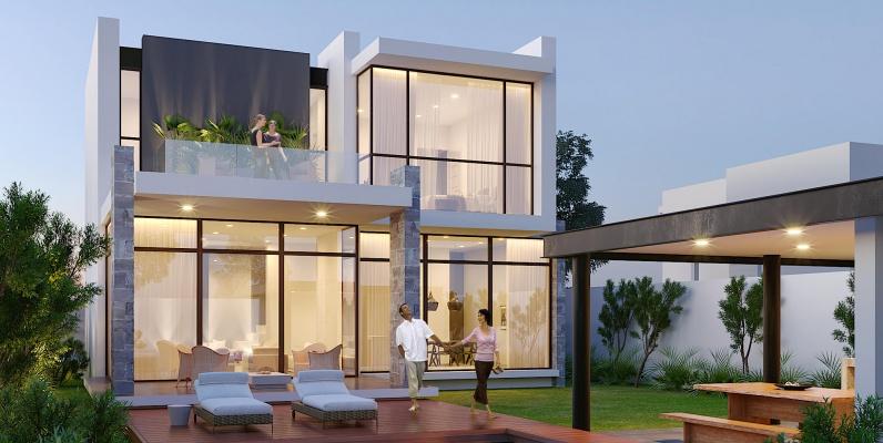 GeoBienes - Mocolí Gardens Exclusive 45-3: Casas en Samborondón - Plusvalia Guayaquil Casas de venta y alquiler Inmobiliaria Ecuador
