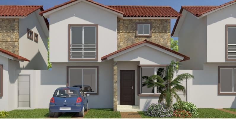 Modelo b casa en venta con 3 dormitorios en costa real for Modelos de casas de 3 dormitorios