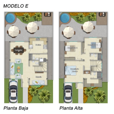 GeoBienes - Modelo E casa en venta con 3 dormitorios en Costa Real - Plusvalia Guayaquil Casas de venta y alquiler Inmobiliaria Ecuador