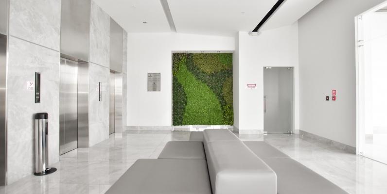 GeoBienes - Oficina de estreno en venta en Edificio Platinum Business Center I - Plusvalia Guayaquil Casas de venta y alquiler Inmobiliaria Ecuador