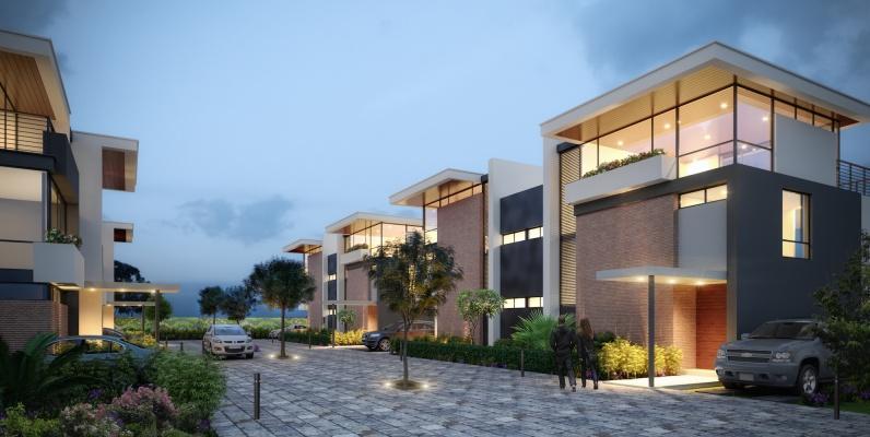 GeoBienes - San Esteban Townhouse 6 - Plusvalia Guayaquil Casas de venta y alquiler Inmobiliaria Ecuador