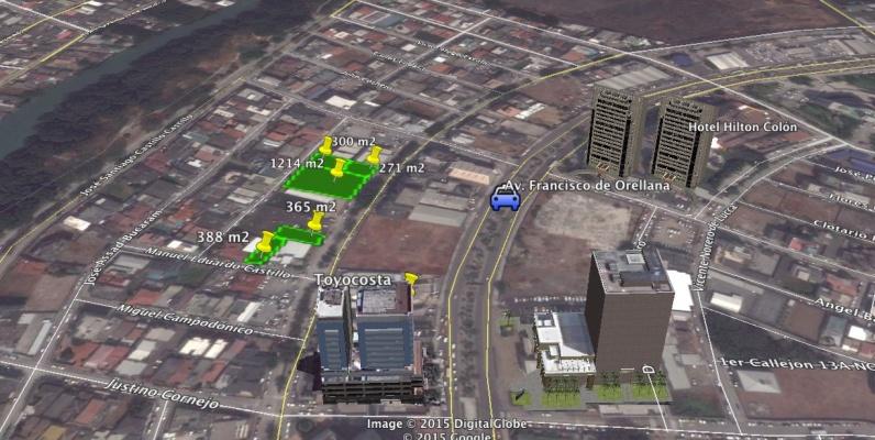 GeoBienes - Terreno de 300 m2 en alquiler Norte de Guayaquil Kennedy Norte - Plusvalia Guayaquil Casas de venta y alquiler Inmobiliaria Ecuador