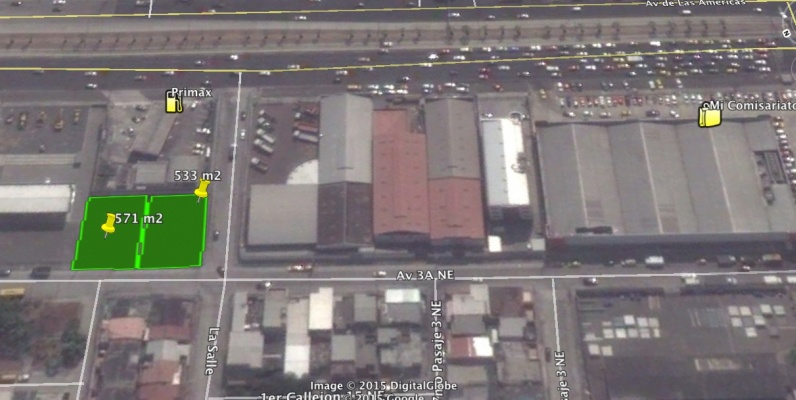 GeoBienes - Terreno de alquiler de 533 m2 en La Garzota Norte de Guayaquil  - Plusvalia Guayaquil Casas de venta y alquiler Inmobiliaria Ecuador