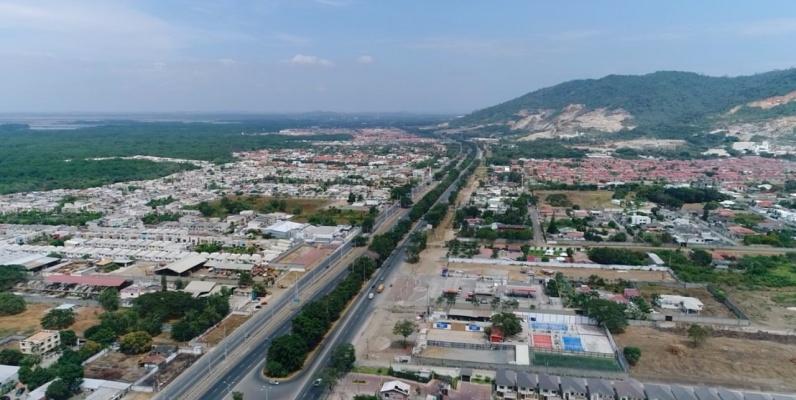 GeoBienes - Terreno en venta Km 19 via a la costa  - Plusvalia Guayaquil Casas de venta y alquiler Inmobiliaria Ecuador