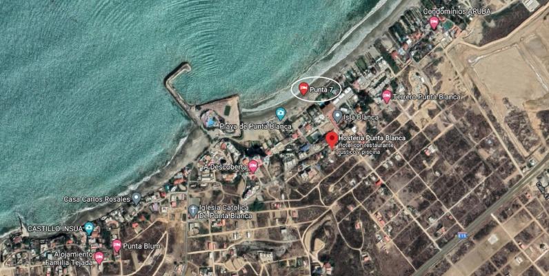 GeoBienes - Terreno en venta ubicado en la entrada 7 de Punta Blanca - Plusvalia Guayaquil Casas de venta y alquiler Inmobiliaria Ecuador