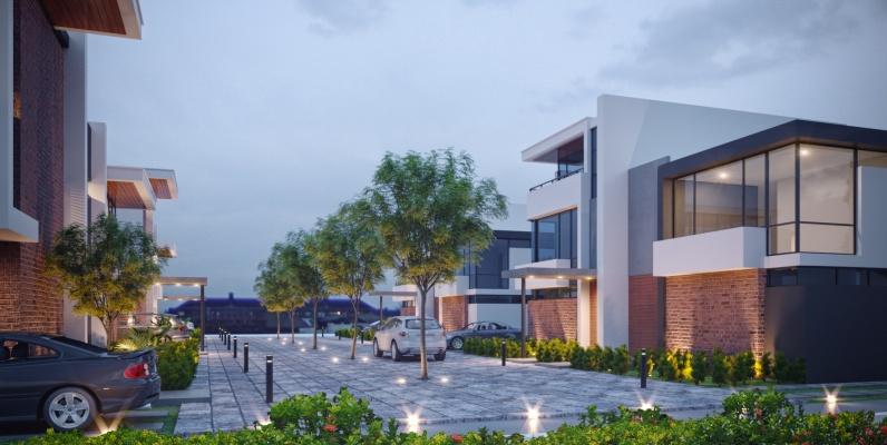 GeoBienes - Townhouse 5 San Esteban Mocolí Gardens - Plusvalia Guayaquil Casas de venta y alquiler Inmobiliaria Ecuador
