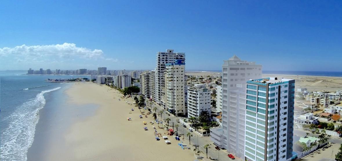 GeoBienes - Bay View Apartments. En la playa de Chipipe Salinas - Plusvalia Guayaquil Casas de venta y alquiler Inmobiliaria Ecuador