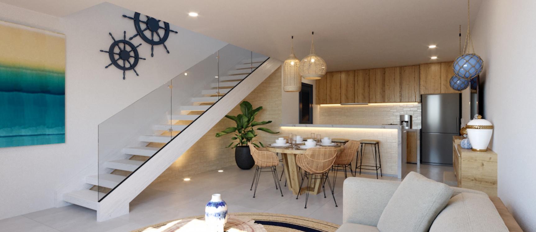 GeoBienes - A7-A Coral Bifamiliar - Plusvalia Guayaquil Casas de venta y alquiler Inmobiliaria Ecuador