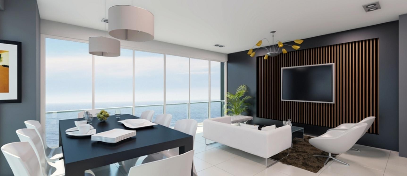 GeoBienes - Departamento de 2 dormitorios frente al mar - Plusvalia Guayaquil Casas de venta y alquiler Inmobiliaria Ecuador