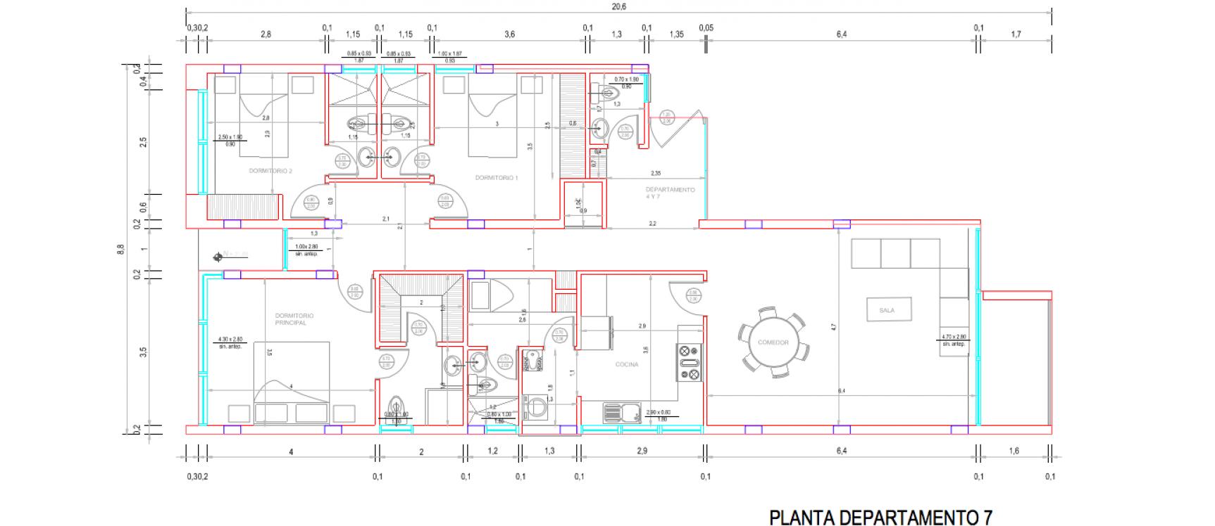GeoBienes - D7 - Departamento en venta en segundo piso Los Ceibos Guayaquil - Plusvalia Guayaquil Casas de venta y alquiler Inmobiliaria Ecuador