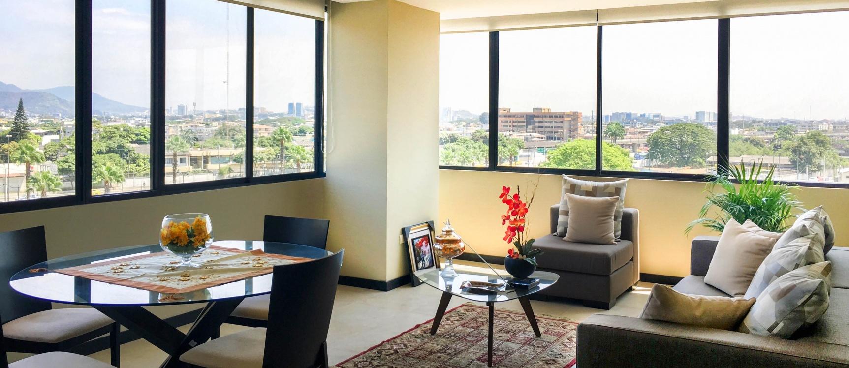 GeoBienes - Departamento en alquiler de 2 dormitorios en Bellini Guayaquil. - Plusvalia Guayaquil Casas de venta y alquiler Inmobiliaria Ecuador
