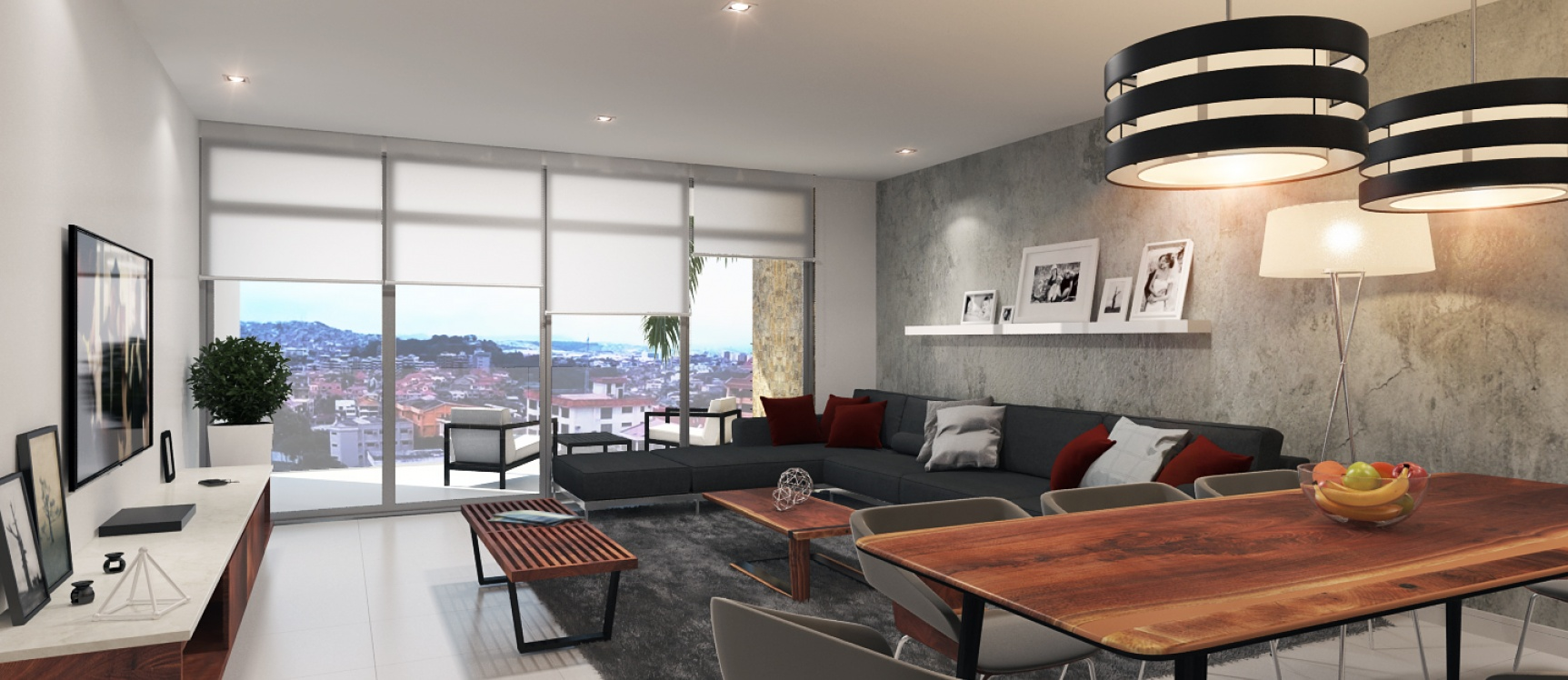 GeoBienes - Apartamento en venta en El Portón de Urdesa Piso 2 - Plusvalia Guayaquil Casas de venta y alquiler Inmobiliaria Ecuador