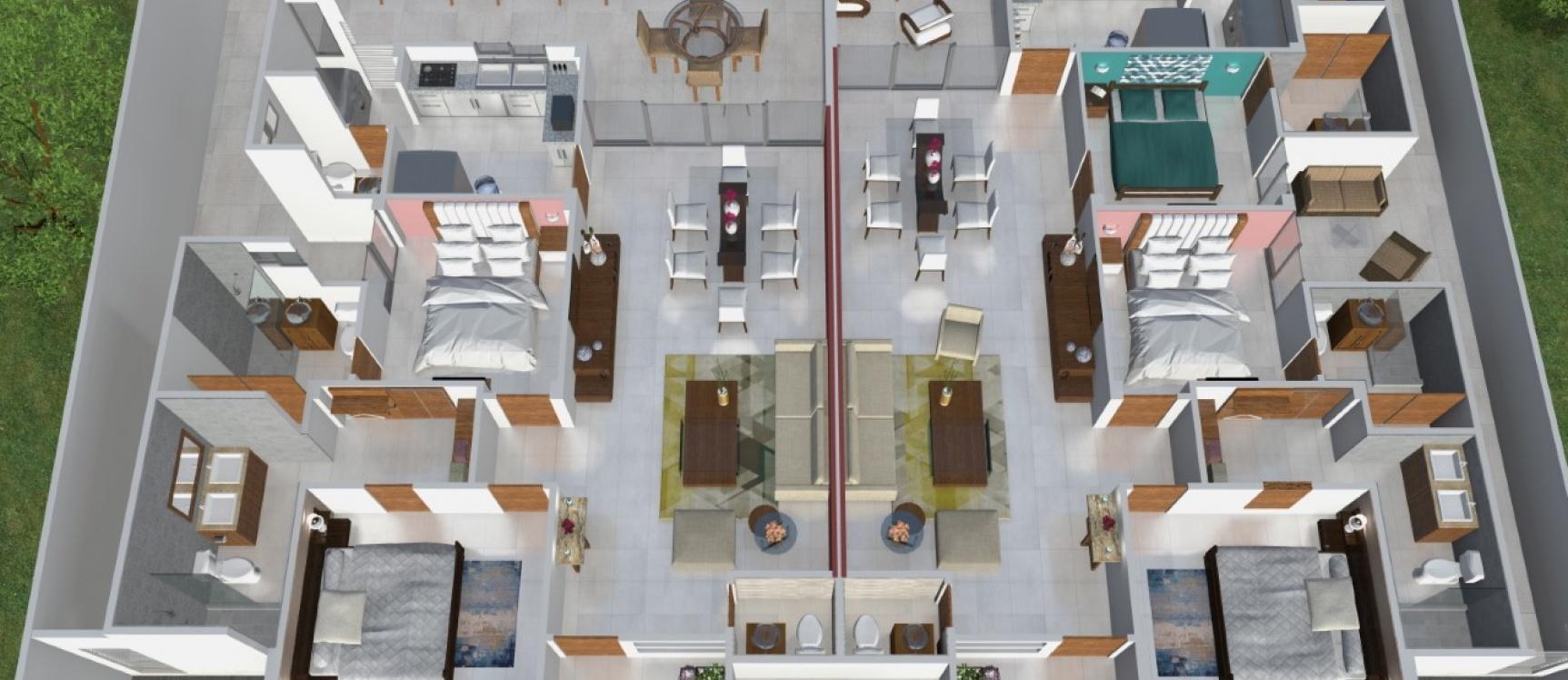 GeoBienes - Departamento planta baja en venta sector Vía a la Costa - Plusvalia Guayaquil Casas de venta y alquiler Inmobiliaria Ecuador