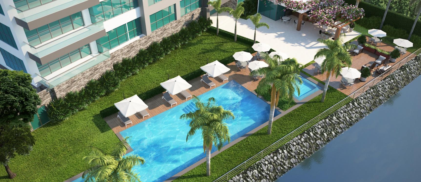 GeoBienes - No Disponible - Departamento suite en venta Puerto Mocoli Samborondon - Plusvalia Guayaquil Casas de venta y alquiler Inmobiliaria Ecuador