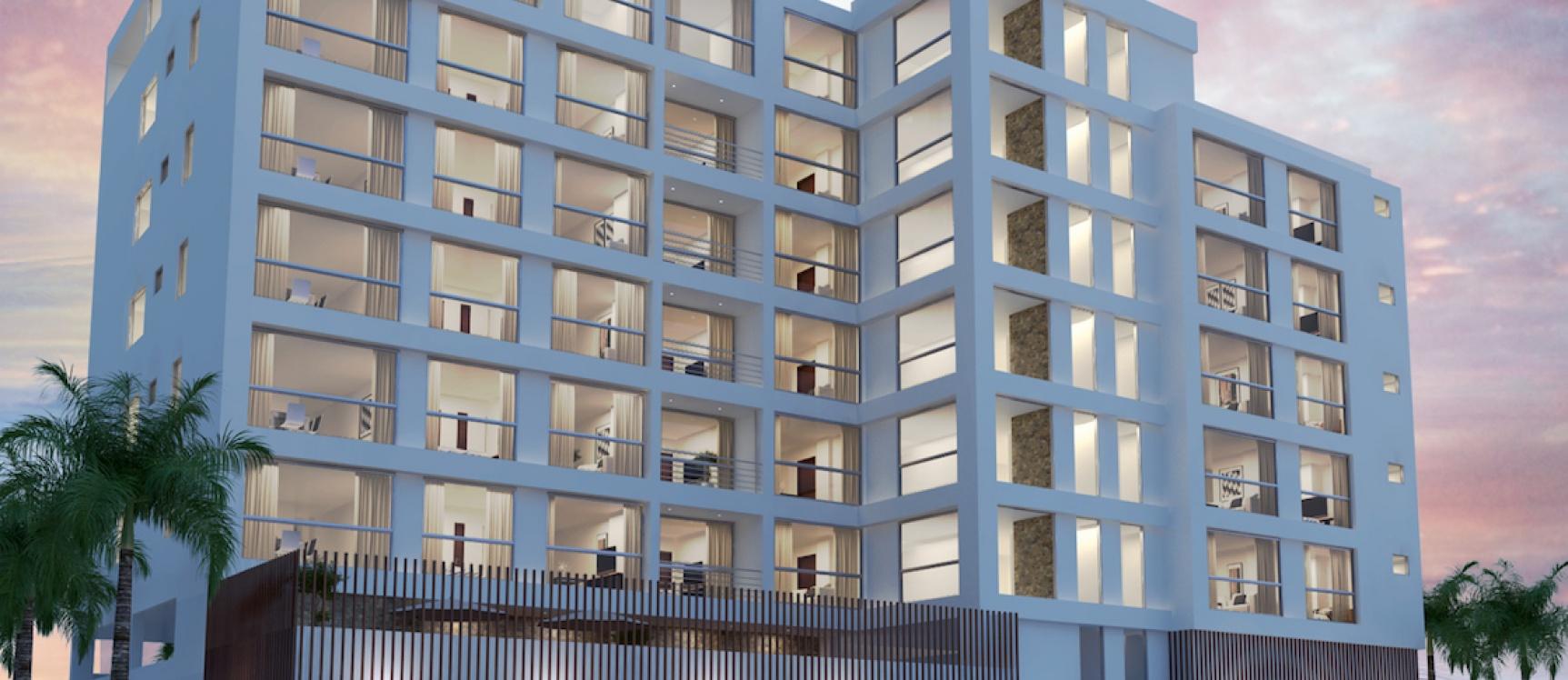 GeoBienes - Departamento tipo suite en venta en Salinas: Camboriú Suites - Plusvalia Guayaquil Casas de venta y alquiler Inmobiliaria Ecuador