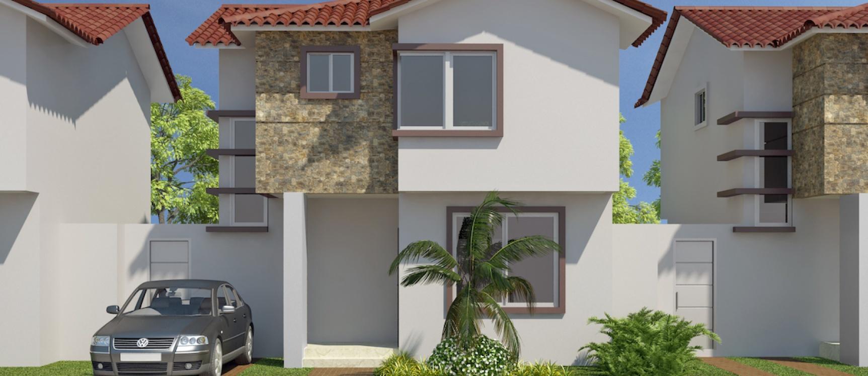 GeoBienes - Casa en venta en Costa Real Guayaquil Modelo A con 3 dormitorios - Plusvalia Guayaquil Casas de venta y alquiler Inmobiliaria Ecuador