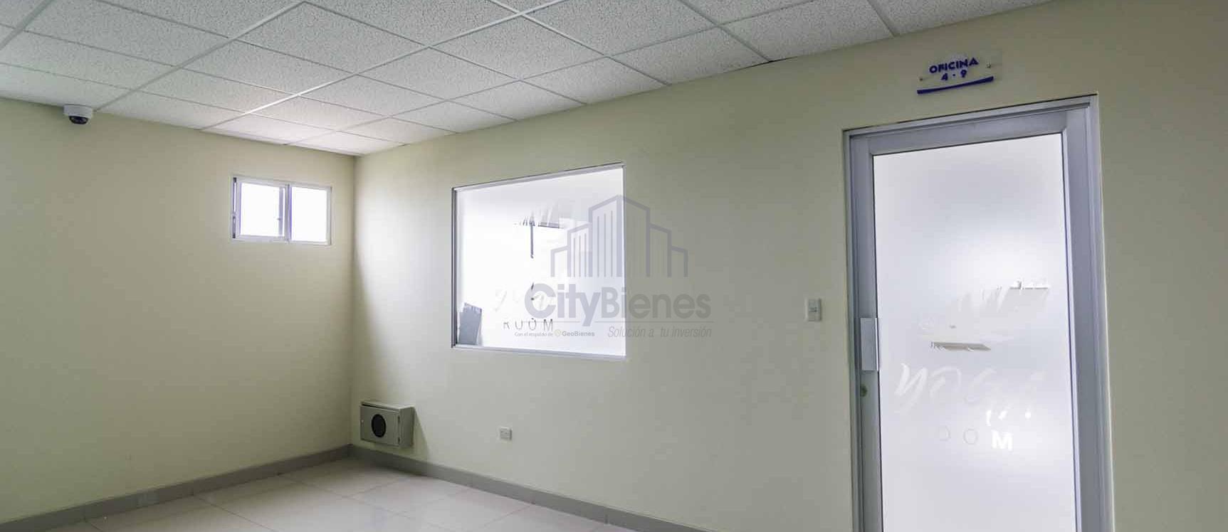 GeoBienes - Oficina en venta en Edificio Diana Quintana vía a Samborondón - Plusvalia Guayaquil Casas de venta y alquiler Inmobiliaria Ecuador