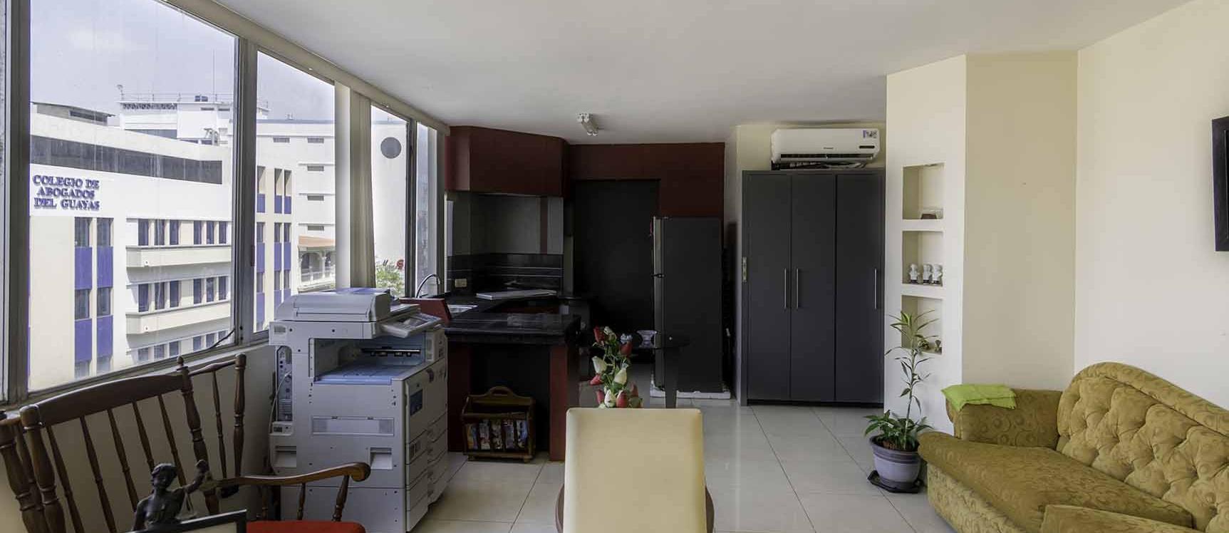 GeoBienes - Oficina en venta en Edificio La Concordia centro de Guayaquil - Plusvalia Guayaquil Casas de venta y alquiler Inmobiliaria Ecuador