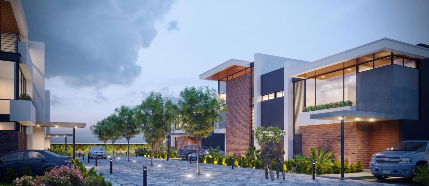 GeoBienes - San Esteban Townhouse 1  - Plusvalia Guayaquil Casas de venta y alquiler Inmobiliaria Ecuador