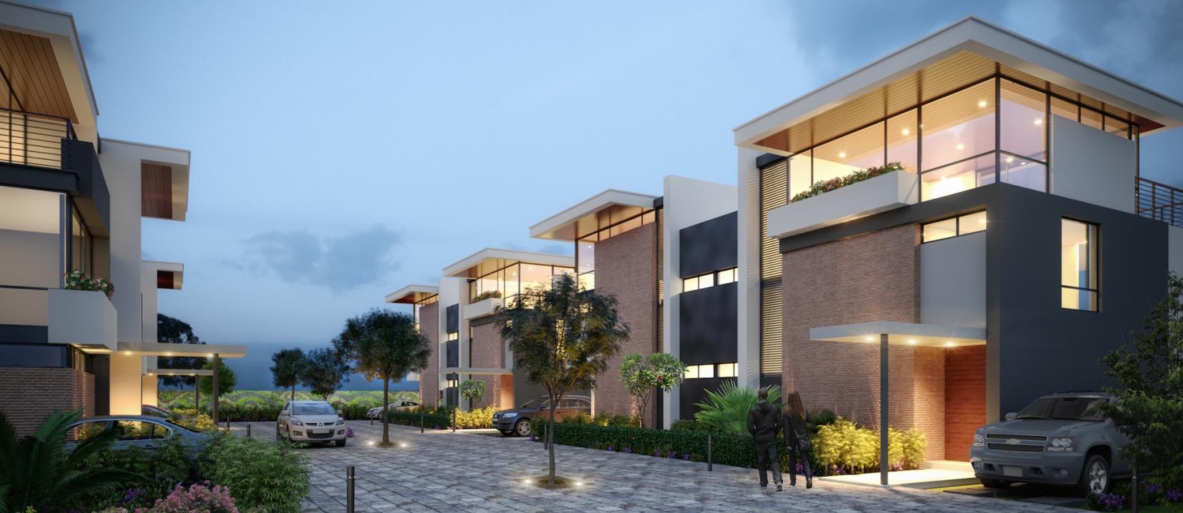 GeoBienes - San Esteban Townhouse 8 - Plusvalia Guayaquil Casas de venta y alquiler Inmobiliaria Ecuador