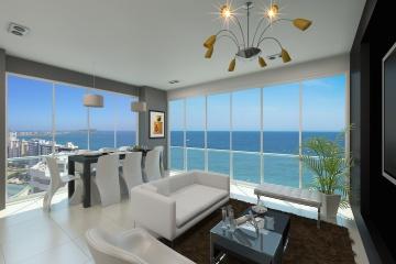 GeoBienes - Departamento de 4 dormitorios frente al mar, piso 14 - Plusvalia Guayaquil Casas de venta y alquiler Inmobiliaria Ecuador