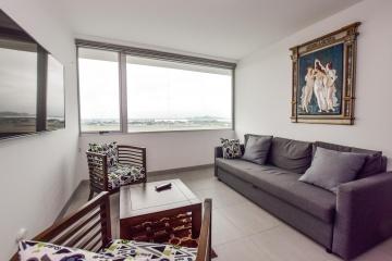 GeoBienes - Departamento amoblado en alquiler - Edificio Quo - Plusvalia Guayaquil Casas de venta y alquiler Inmobiliaria Ecuador