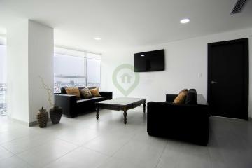 GeoBienes - Departamento en alquiler en Edificio QUO norte de Guayaquil - Plusvalia Guayaquil Casas de venta y alquiler Inmobiliaria Ecuador