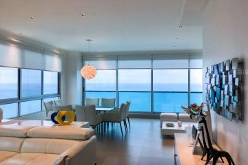 GeoBienes - Departamento frente al mar en venta, edificio Bay Point Salinas - Plusvalia Guayaquil Casas de venta y alquiler Inmobiliaria Ecuador