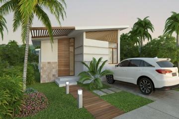 GeoBienes - Modelo Fiji (87m2) - Urbanización Cumbres de Ayangue - Plusvalia Guayaquil Casas de venta y alquiler Inmobiliaria Ecuador
