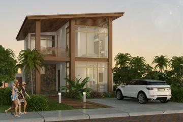 GeoBienes - Modelo Maui (127 m2) - Urbanización Cumbres de Ayangue - Plusvalia Guayaquil Casas de venta y alquiler Inmobiliaria Ecuador