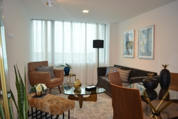 GeoBienes - Suite en alquiler en edificio Quo sector Mall del Sol - Plusvalia Guayaquil Casas de venta y alquiler Inmobiliaria Ecuador