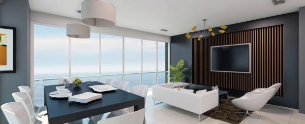 Departamento de 2 dormitorios frente al mar