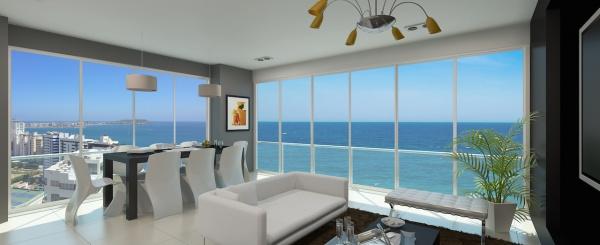 3 dormitorios. Departamento en venta en Salinas frente al mar