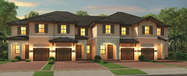 Eden Model Townhouse home in Aquabella