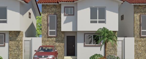 Modelo C casa en venta con 3 dormitorios en Costa Real