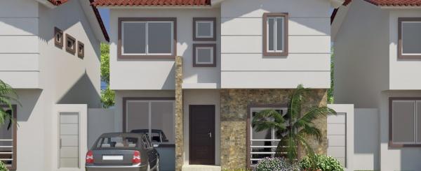 Modelo E casa en venta con 3 dormitorios en Costa Real
