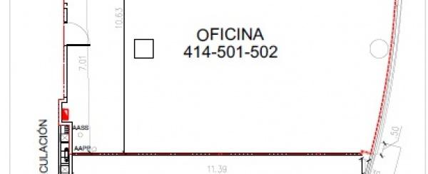 Oficina en alquiler de 120 m2 Sector de la gran manzana Guayaquil