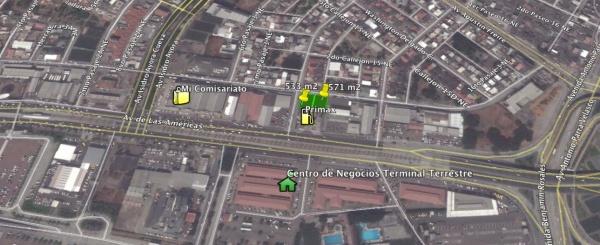 Terreno de alquiler de 533 m2 en La Garzota Norte de Guayaquil