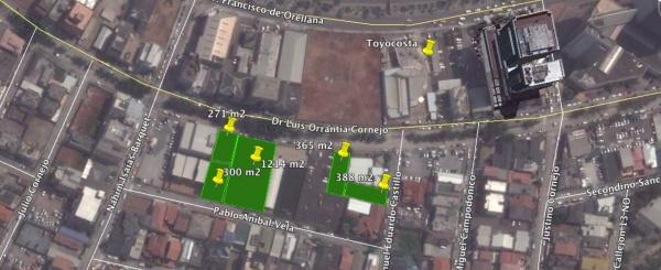 Terreno de 300 m2 en alquiler Norte de Guayaquil Kennedy Norte