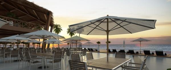 Urbanización Cumbres de Ayangue en la playa de Ayangue Ecuador